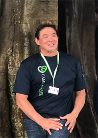 Pastor Roy Yamamoto at Agape Christian Fellowship Oahu